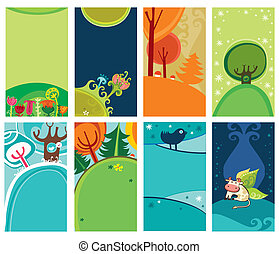 Spring Summer cards.