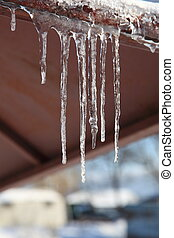 Spring. Thaw. Icicles