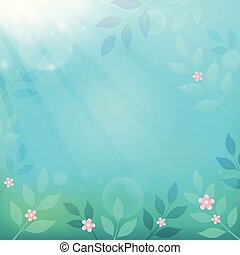 Spring thematics background 3