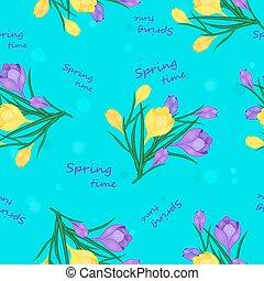 spring time pattern-01