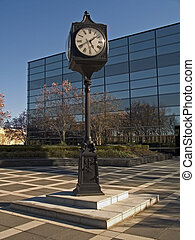 Spring Time - This is a shot of a nice clock in an office ...