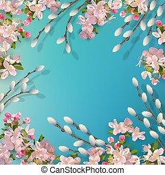 Spring Vector Background
