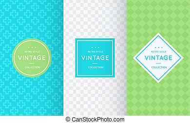 Spring vector seamless patterns