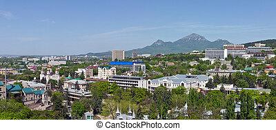 Spring view of Pyatigorsk.