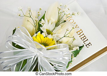Spring Wedding Bible