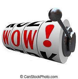 springa, jackpott, ord, braksucce, vinnare, maskin, överraskning, hjul
