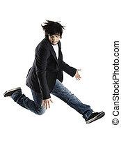 springende , tanz
