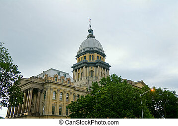 Springfield Capitol Dome and Building