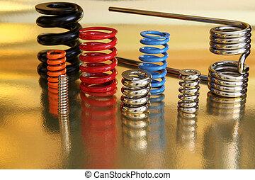 springs, металл