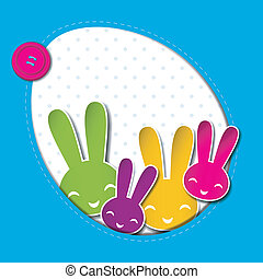 Springtime Easter Holiday Background