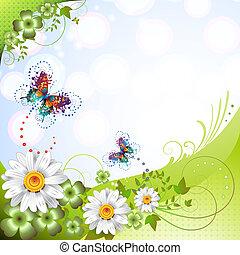 springtime, fundo