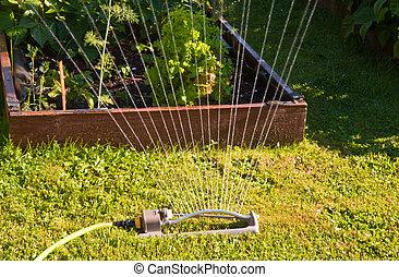 Sprinkler - Oscillating sprinkler
