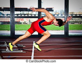 sprinter man