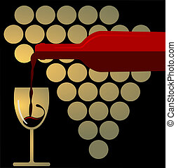 spritzen, rotwein