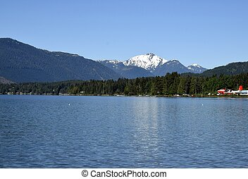 Sproat lake scenery, Vancouver island - view from the shores...