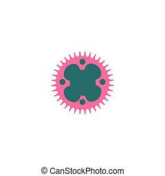 Sprocket Icon Vector