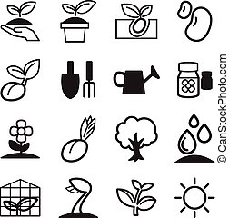 Sprout icons  Set