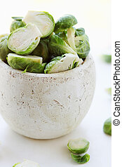 sprouts  in  vase