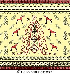 Spruce and moose ethnic background natural