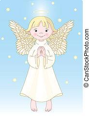 sprytny, anioł