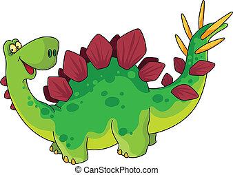 sprytny, dinozaur