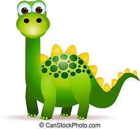 sprytny, dinozaury