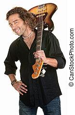 sprytny, gitarzysta