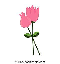 sprytny, kwiat ogród, ikona