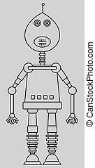 sprytny, robot