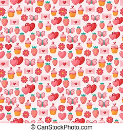 sprytny, seamless, valentine