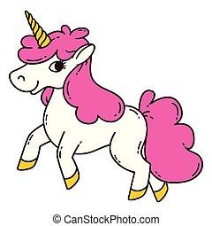 sprytny, unicorn.