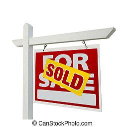sprzedany, dom, dla sprzedaży, realność znaczą