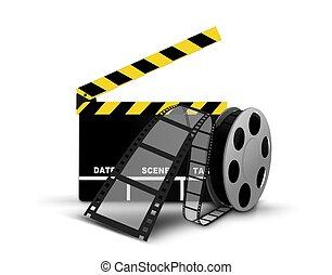 Spule,  Clapperboard,  Film