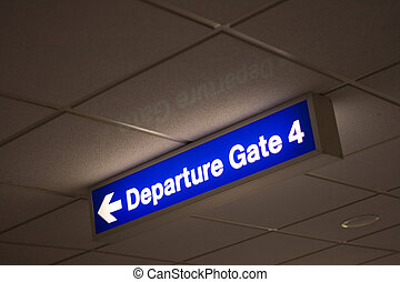 spullen, abstract, luchthaven