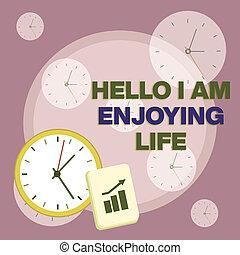spullen, foto, grafiek, ontspannen, klok, arrow., aantekening, hallo, zakelijk, het tonen, muur, schrijvende , genieten, opmaak, life., het genieten van, vrolijke , notepad, bar, levensstijl, escalating, eenvoudig, showcasing