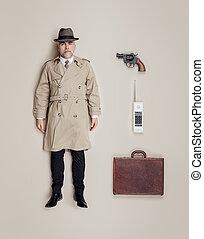 Spy agent lifelike doll