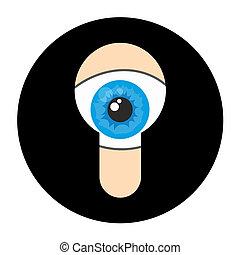 Spy icon - Creative design of spy icon