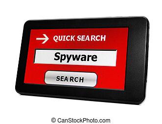 Spyware concept