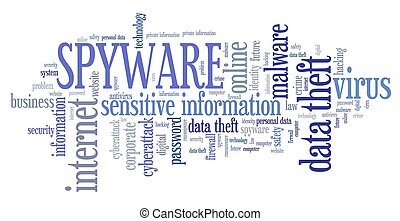 Spyware security breach