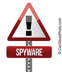 'spyware', zeichen