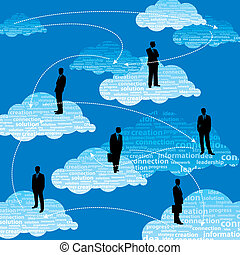 squadra, affari globali, persone
