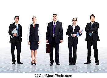 squadra, affari, Persone