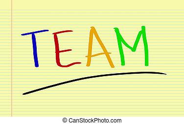 squadra, concetto