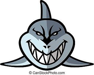 Squalo illustrazione for Disegno squalo