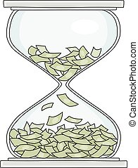 Squandering money in an hourglass - Losing of reserves and ...