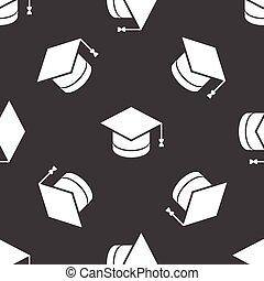 Square academic cap pattern