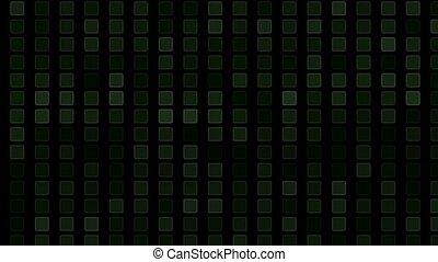 square and block Brick matrix wall