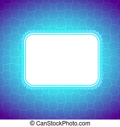 Square artistic banner, colorful lighting background