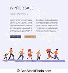 Square Banner for Christmas sale - Web banner design...
