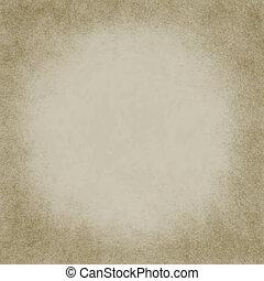 Square Beige Grunge Textured Background